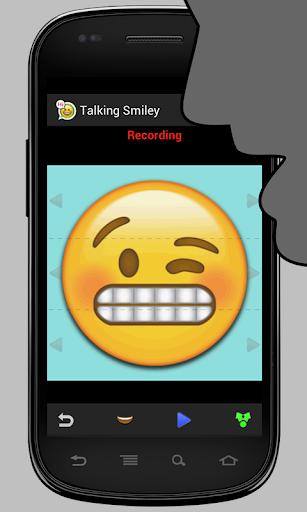 Talking Smiley Pro - screenshot