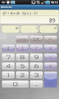 Screenshot of MemCalc