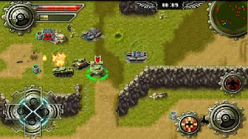 Screenshot of Tank War: Extreme