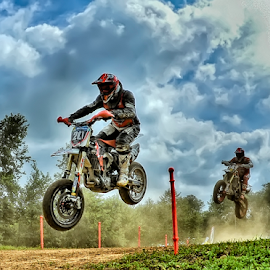Super Motard by Luca Renoldi - Sports & Fitness Motorsports ( rider, hdr, motard, motorsport, jump )
