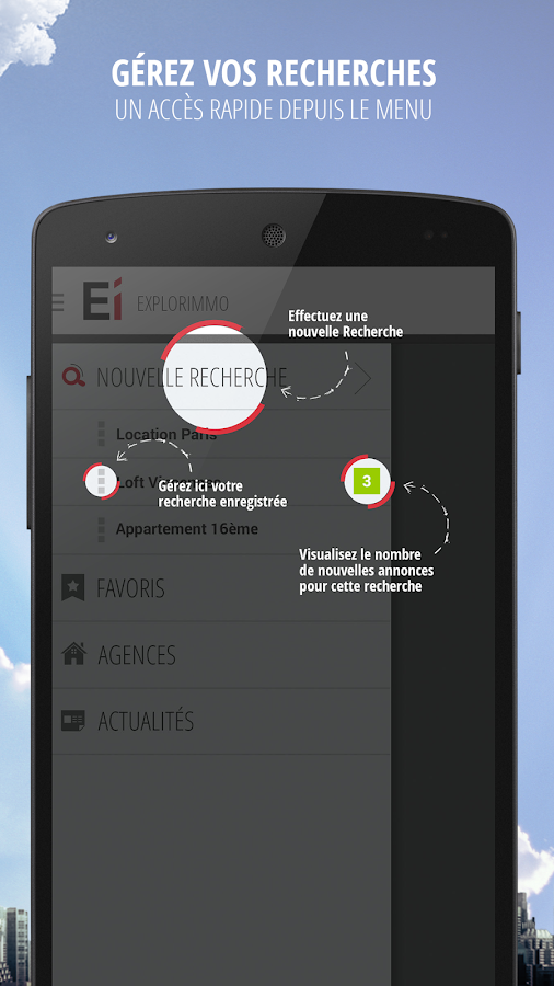 Explorimmo – Immobilier Screenshot 5