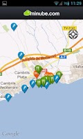 Screenshot of Guía de Cambrils - minube