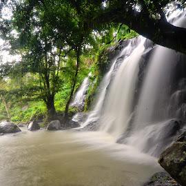 small waterfall by Amyn Akbarinzyach - Nature Up Close Water