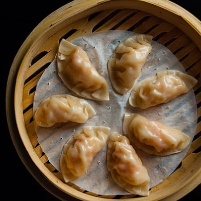 Shrimp Dumplings with Lemongrass