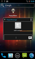 Screenshot of Popup Messenger
