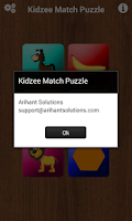 Screenshot of Kidzee Memory Match