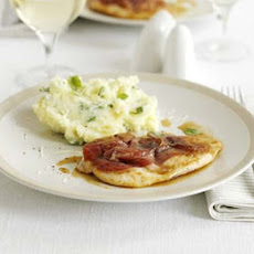 Chicken Saltimbocca With Basil Mash