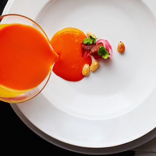 Chef Thomas Keller's Puree of Sweet Carrot Soup