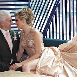 RO Y DIETER by Jose Mata - Wedding Bride & Groom