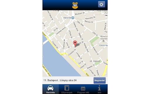 City Taxi rendelés