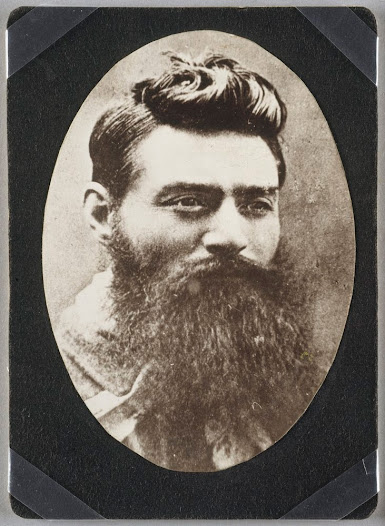 Ned Kelly the day before he was hanged