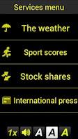 Screenshot of Happen Accessible Newsreader
