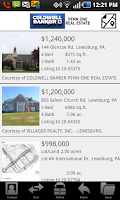 Screenshot of Coldwell Banker Penn One RE