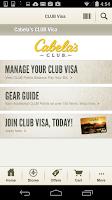 Screenshot of Cabela's