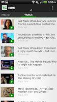 Screenshot of TechCrunch