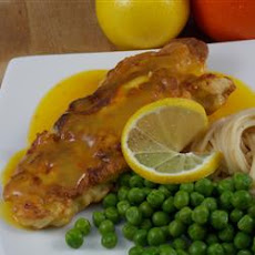Chicken with Orange and Lemon Sauce