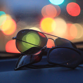 ray ban by Danang Kusumawardana - Artistic Objects Clothing & Accessories ( rayban, glasses, bokeh )