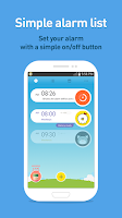 Screenshot of AlarmMon (alarm clock)
