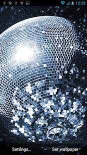 Disco Ball Live Wallpaper - screenshot