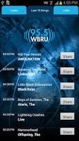Screenshot of 95.5 WBRU
