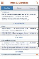 Screenshot of EasyBourse