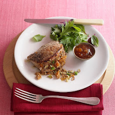 Pork Chops with Bulgur Stuffing