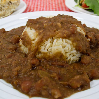 Real Louisiana Red Beans and Rice (Sans Animaux)