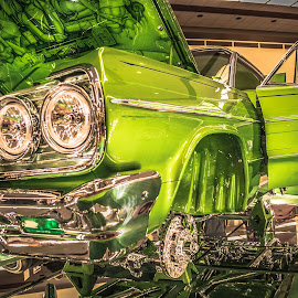 A class above by Cali Original - Transportation Automobiles ( lowrider, impala, chevrolet, chrome )