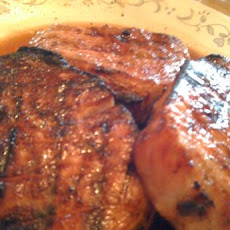 Apple-Brown Sugar Pork Chops