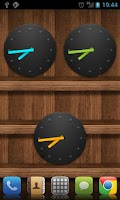 Screenshot of Cyanogen Analog Clock Widgets