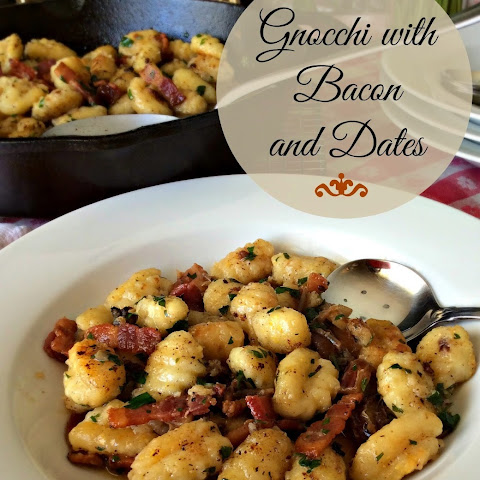 Gnocchi with Bacon and Dates