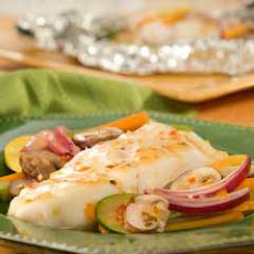 Easy Vegetable 'n Fish Pouches Italiano