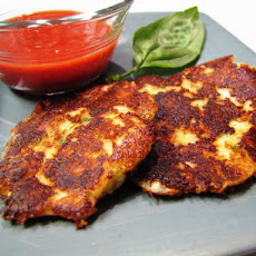 Bill's Mozzarella and Basil Fritters