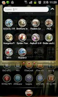 Screenshot of GO Launcher EX Gold Theme