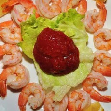 Homemade Shrimp Cocktail