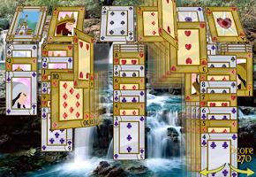 Screenshot of Solitaire 3D