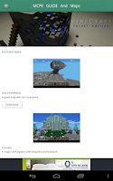 Screenshot of MCPE Guide