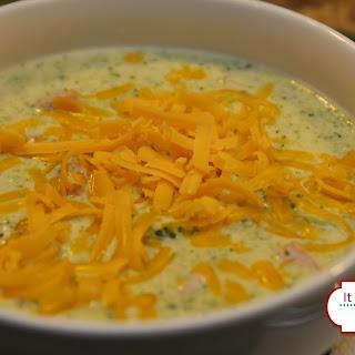Broccoli Ham Soup Cheddar Recipes
