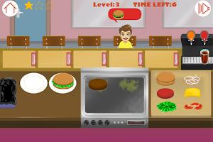 Screenshot of Burger Restaurant