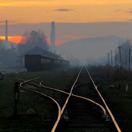 by Jasmina Blagojević - Transportation Railway Tracks