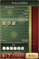Screenshot of Farkle Dice