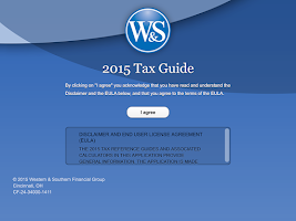 Screenshot of 2015 WSFGD Tax App