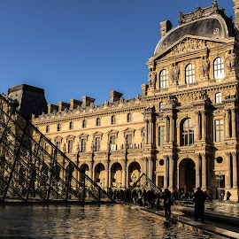The Louvre by Darkeyes Photography - City,  Street & Park  Historic Districts ( history, paris, louvre, france, museum, photography )