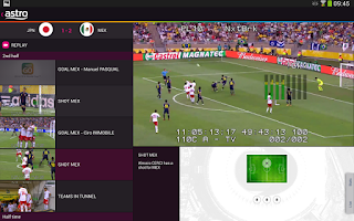Screenshot of Astro Go 2014 FIFA World Cup™