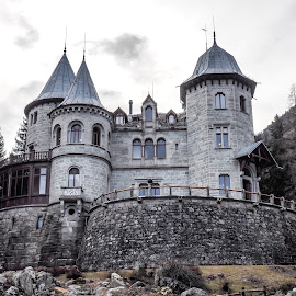 Savoia Castle by Mauro Amoroso - Buildings & Architecture Statues & Monuments ( gressoney, aosta, savoia, castle, architecture )