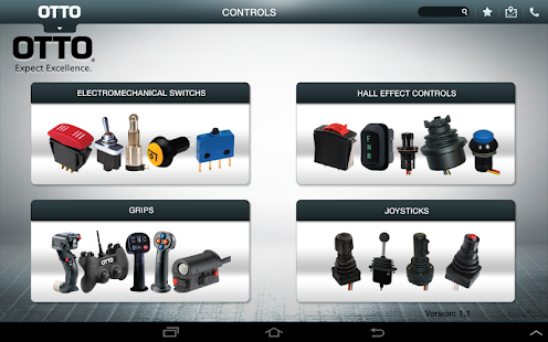 OTTO Engineering Catalog App - screenshot