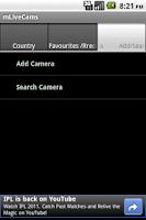 Screenshot of mLivecams