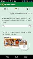 Screenshot of Sports Republic