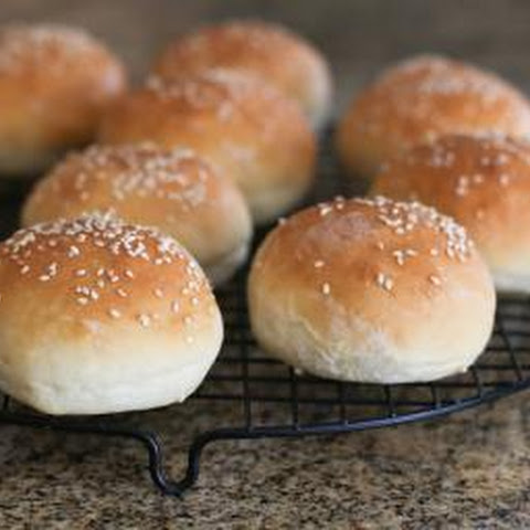 Bread Machine Hamburger or Hot Dog Buns