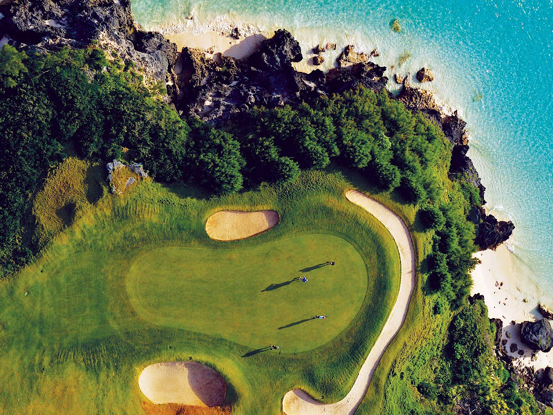 Port Royal Golf Course in Southhampton, Bermuda.
